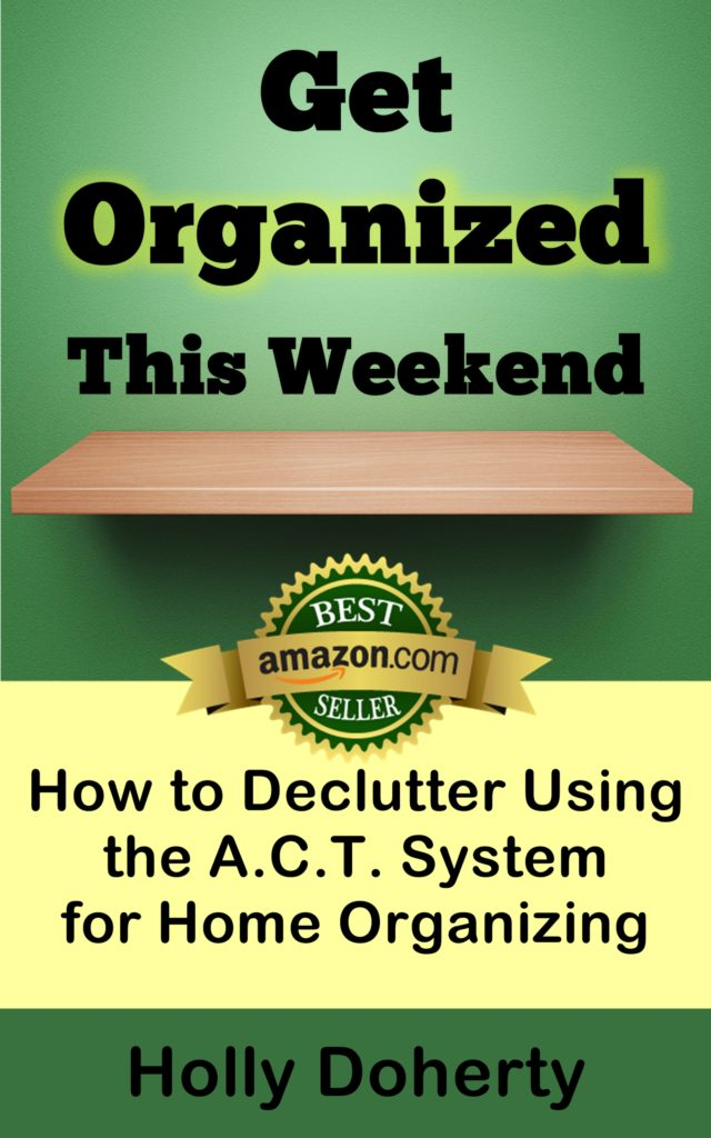 get organized this weekend book