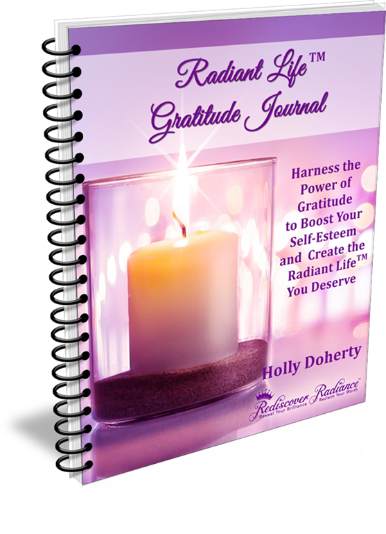Gratitude Journal because learning how to be grateful takes daily practice